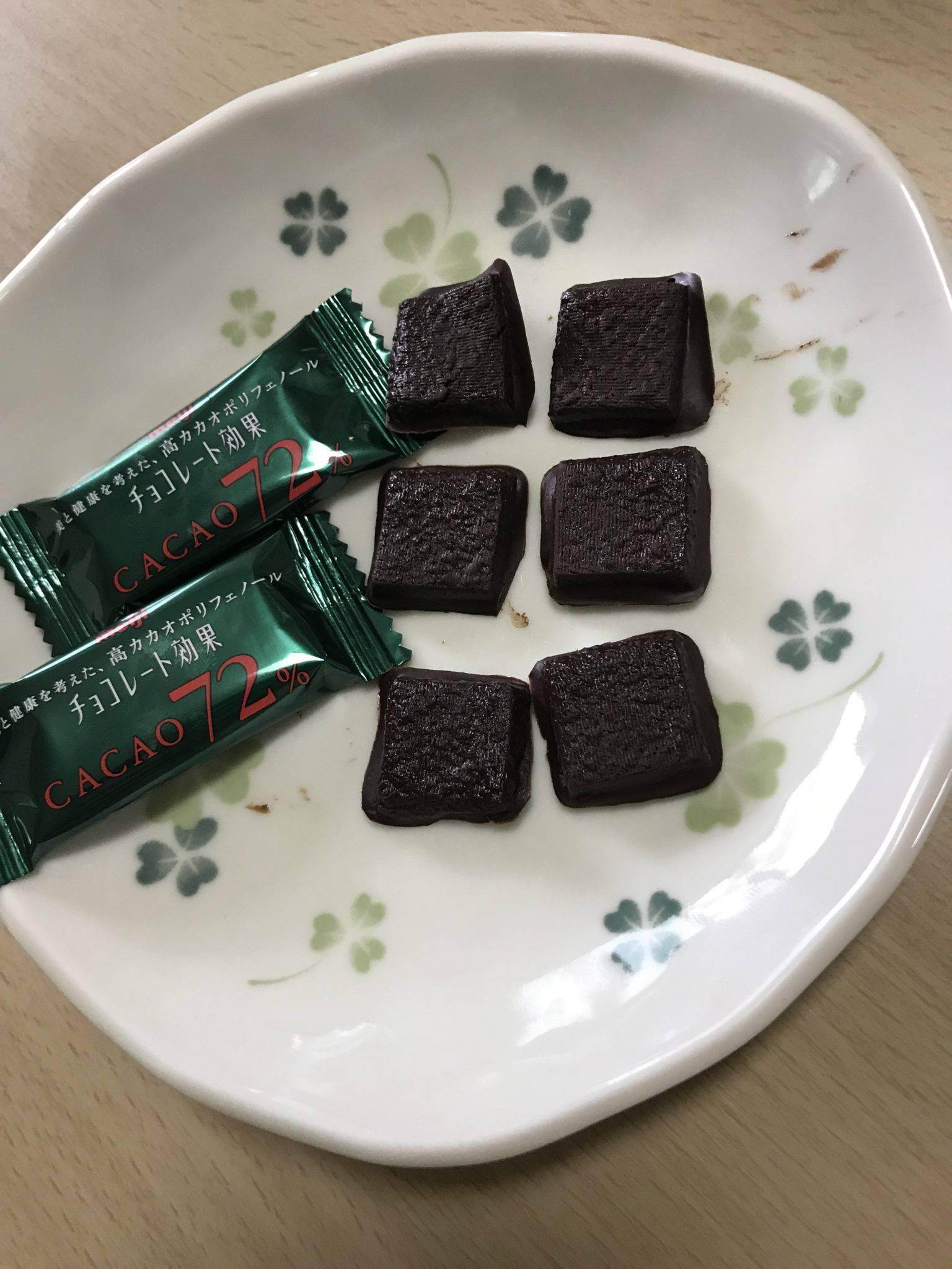 チョコレートをオーブンで焼いて冷凍庫で冷やして食べたらサクサクで美味しかった話。