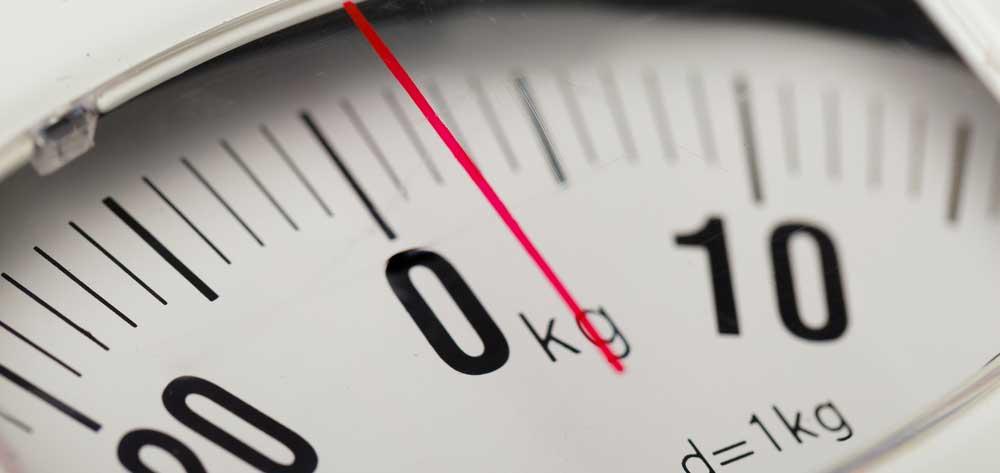 一番身近なk(キロ)は体重
