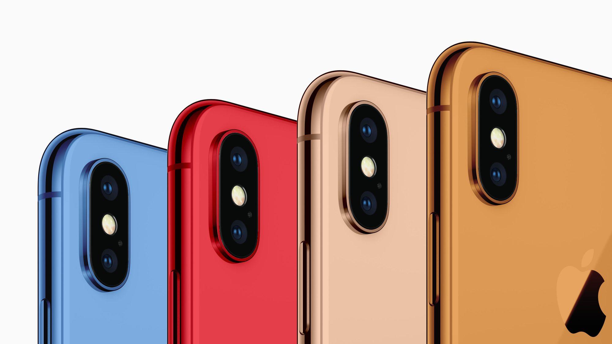 iPhoneXRはカラフルな5色展開だと!?結局ケースするやん!!