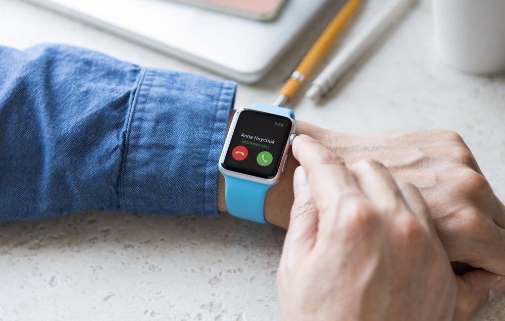 Apple Watchのみでハンズフリー簡単電話対応が可能