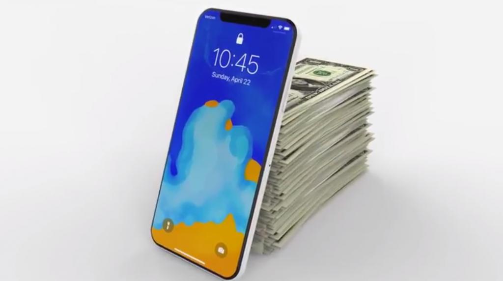LCDモデルは799ドル、iPhoneX後継機のiPhoneⅪは999ドル前後