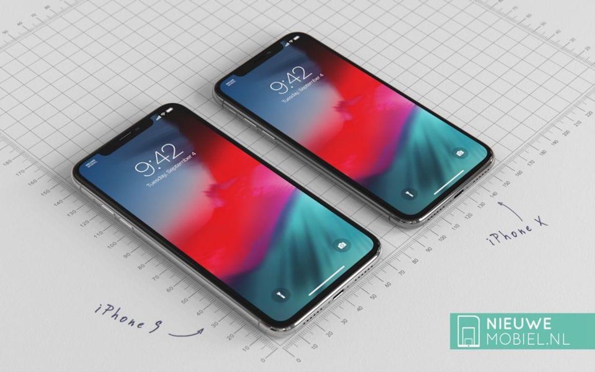 さぁ、2018年版iPhoneXRとiPhoneXを比べてみようじゃないか。