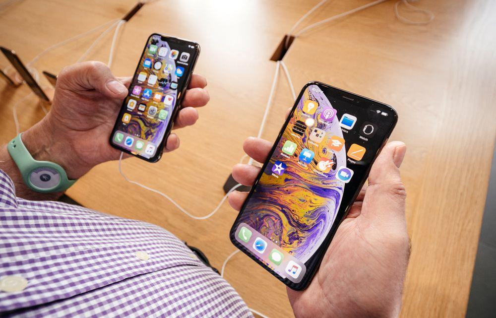 iPhoneXsMAX画面の見やすさ
