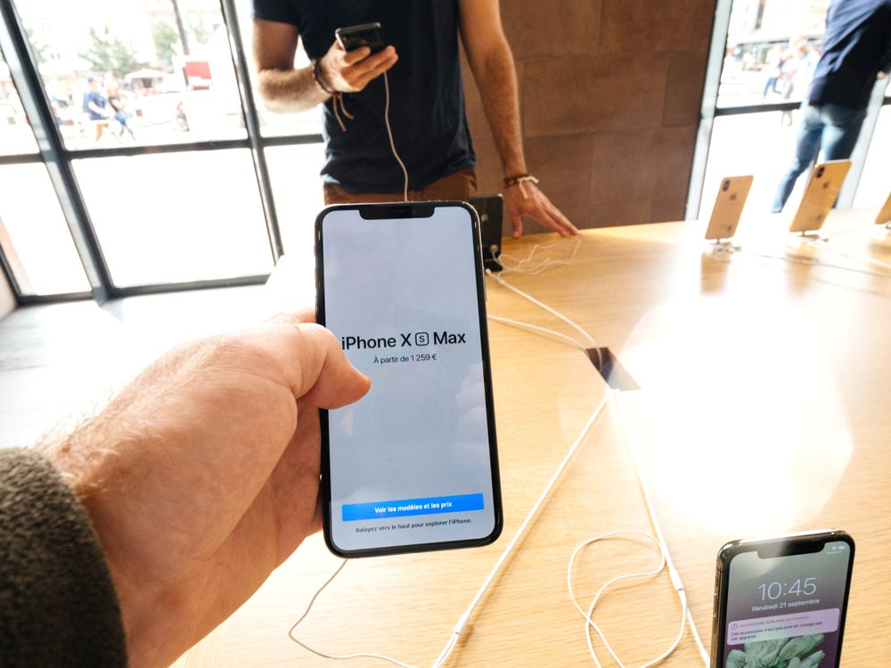 iPhoneXs MAXのネーミング