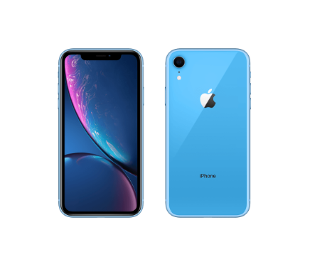 iPhoneXRのブルー