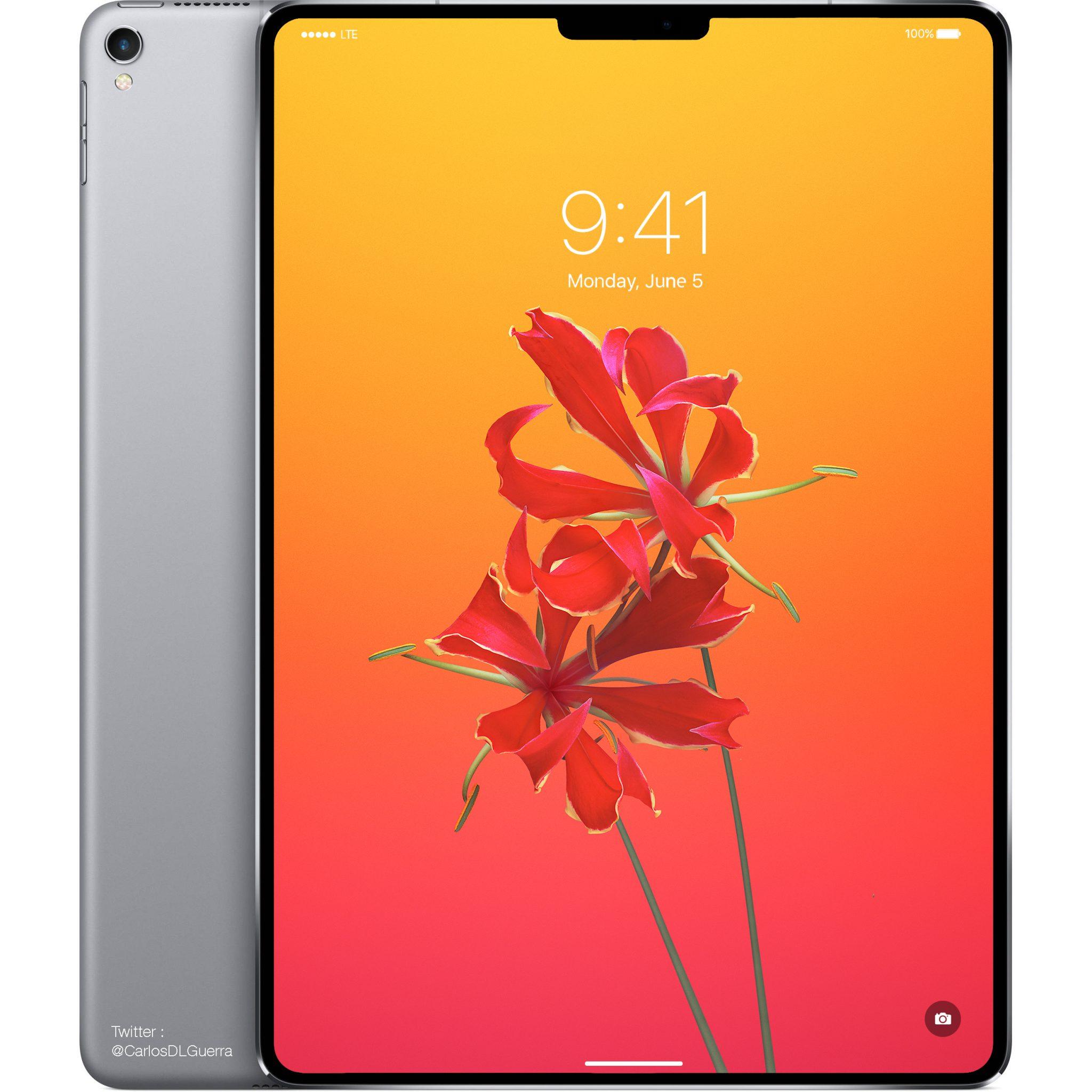 2018年版フルスクリーンiPad Pro登場へ、すべての既存iPadが型落ちデザインに。
