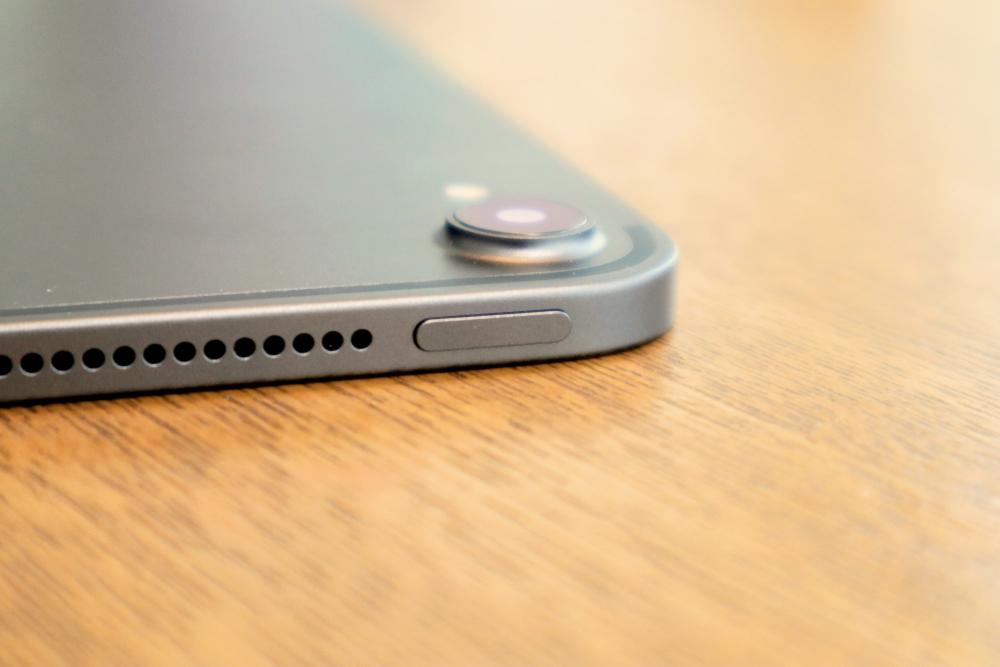 iPadProの側面は90度