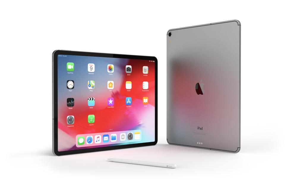 新型iPadProは板のようなビジュアル