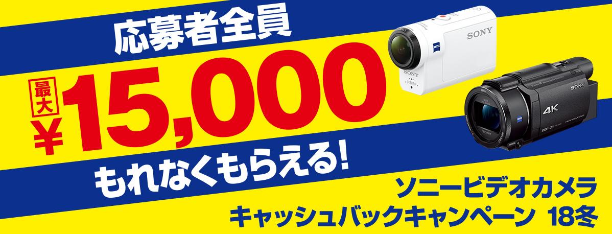 【かんたん解説】Sonyカメラのキャッシュバックキャンペーンの申請する方法│2018-2019