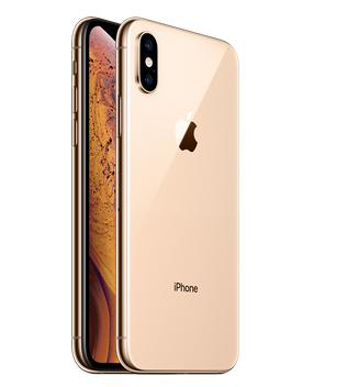 iPhoneXSのゴールド