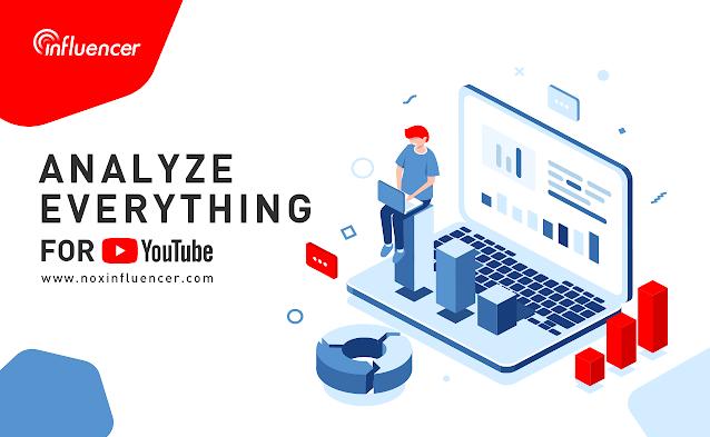好きなYoutuberの推定収益が見れる!Chrome拡張機能「Nox Influencer for YouTube」公開開始。