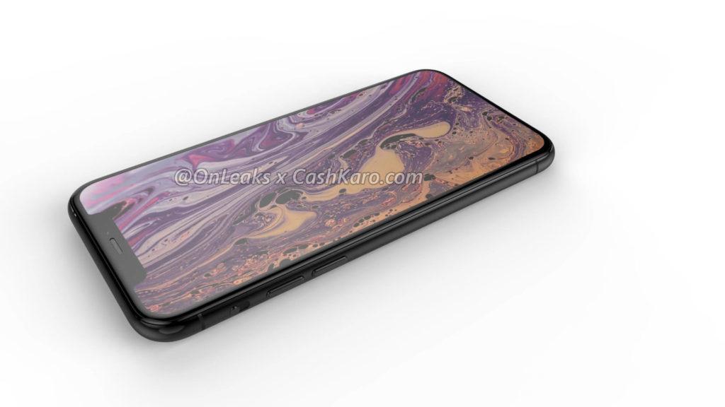iPhoneXSノッチ・ベゼルはXSよりも極僅かに薄くなる
