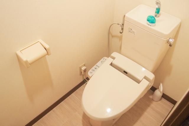 トイレに沈殿したバリウムを綺麗に流す方法