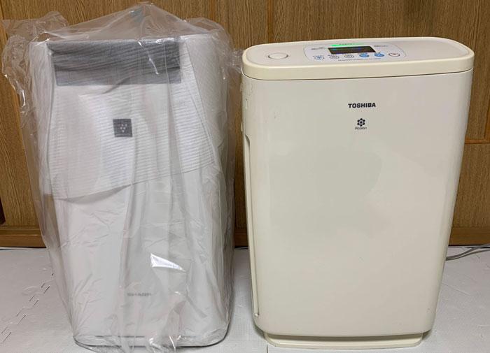 【SHARP】空気清浄機を10年ぶりに新しくした結果、得られた価値!KI-HS50購入レビュー