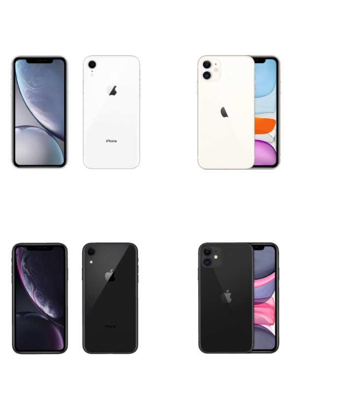 iPhoneXRからiPhone11に引き継がれた色ホワイト・ブラック