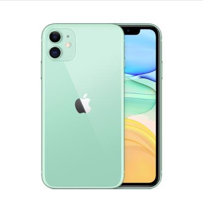 iPhone11のグリーン(新色)の全体像