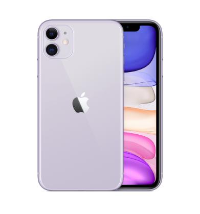 iPhone11のパープル(新色)の全体像