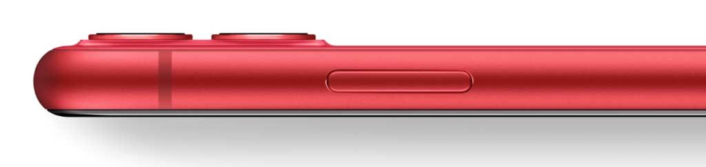 iPhone11のレッド正面