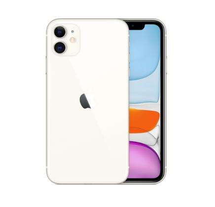 iPhone11のホワイトの全体