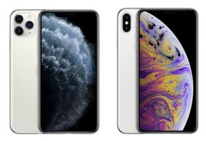 左:iPhone11Pro 右:iPhoneXs