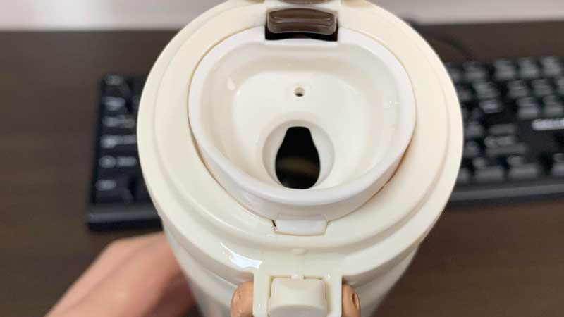 THERMOS水筒の飲み口の説明