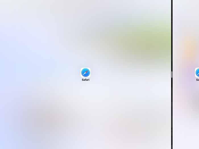 iPadを2画面表示を戻す解除方法2