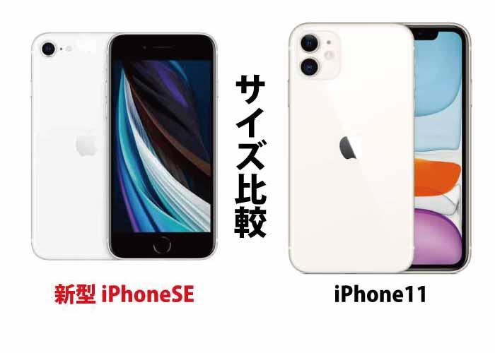 iPhone11(Pro/ProMax)シリーズとのサイズ比較