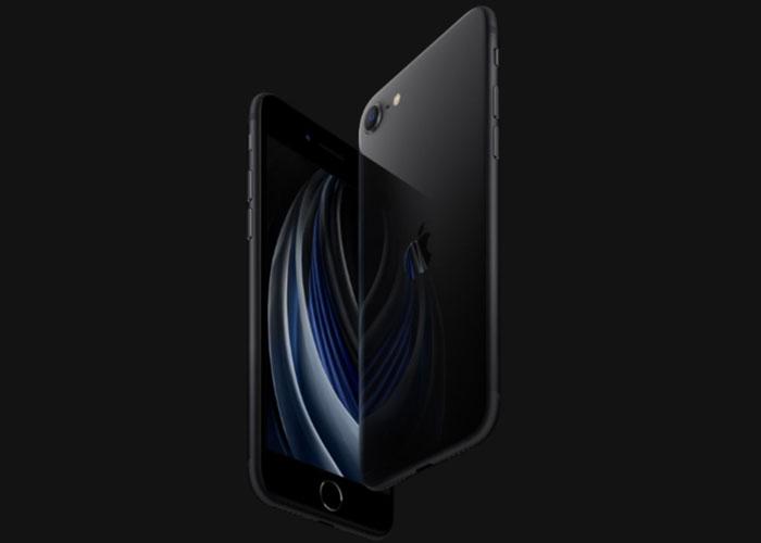 新型iPhoneSE(第2世代)のブラック