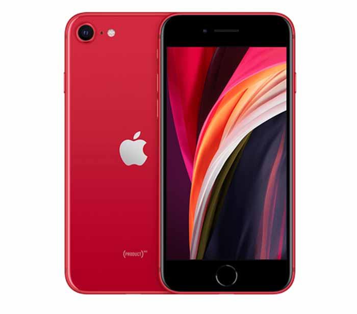 新型iphoneSE(第2世代)のレッド2