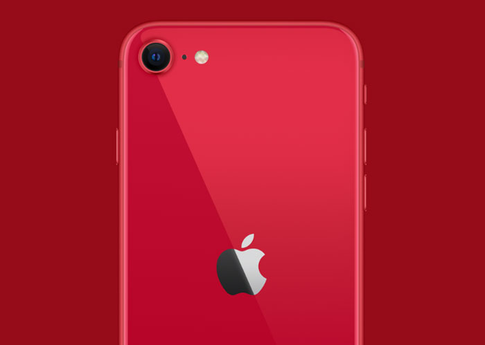 新型iPhoneSE(第2世代)のレッド1