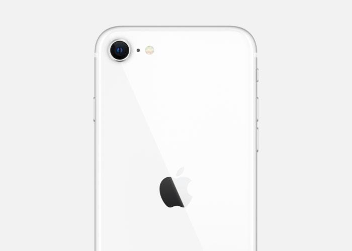 型iPhoneSE(第2世代)のホワイト1