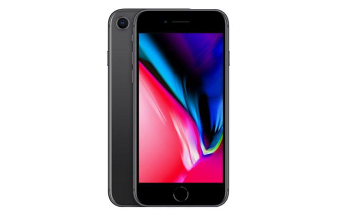 iPhone8のスペースグレー