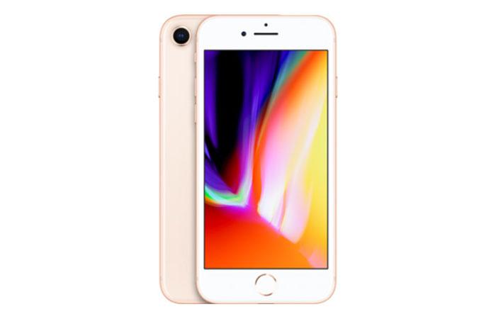 iPhone8のローズゴールド(ピンク系統)