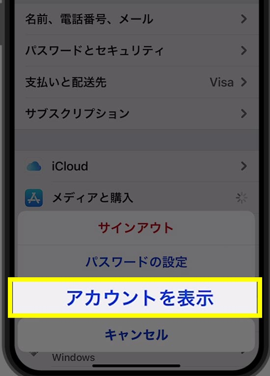 Apple Com Billからの請求理由の確認手順4
