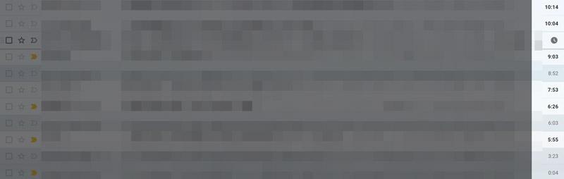 Gmailの表示時間がおかしい!ズレている!原因と対処方法8