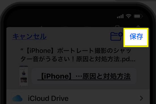 【iPhone】Webページ全体をスクリーンショットする方法6