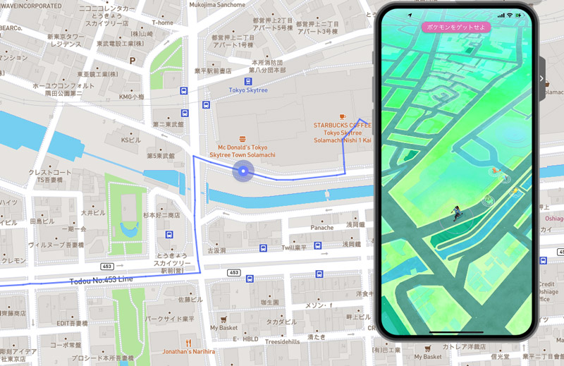 【iPhone】ポケモンGOを自宅で楽しむ方法(位置偽装する手順)ポケモンGOが、パソコンとケーブル接続しているiPhone上でスタートしました。
